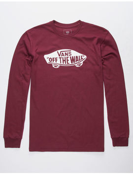 Vans Otw Burgundy Mens T Shirt by Vans