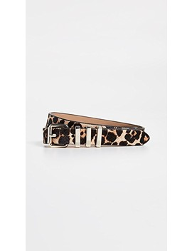 Suzy Haircalf Belt by Rebecca Minkoff