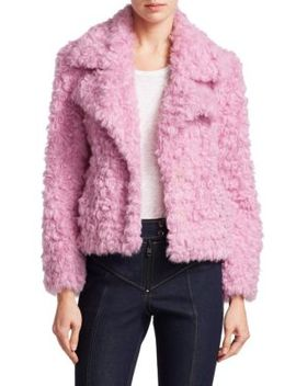 Georgia Faux Fur Jacket by Cinq à Sept