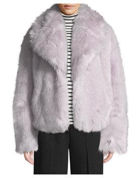 Grant Long Sleeve Faux Fur Jacket by A.L.C.
