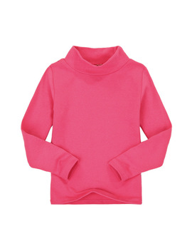 2017 Autumn Winter Girls Boys High Collar T Shirt Cotton Solid Candy Color Shirts Girls Boys Full Sleeve T Shirts Kf271 by Tsaujia