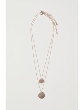 2er Pack Halsketten by H&M