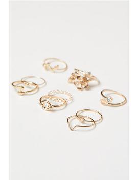 9er Pack Ringe by H&M