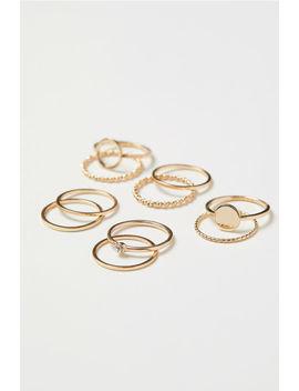 10er Pack Ringe by H&M