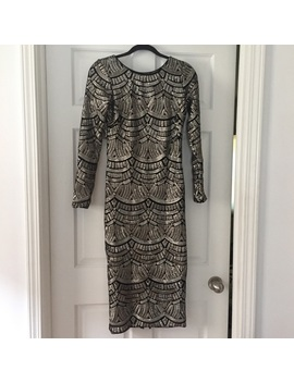 Dress The Population Sequined Dress Sz M by Dress The Population