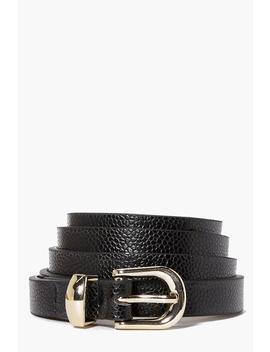 Skinny Belt by Boohoo