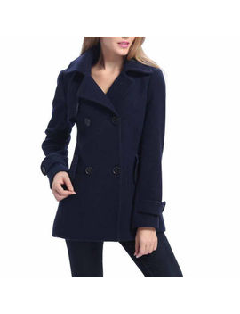 Bgsd Women's Piper Plush Wool Blend Coat by Bgsd