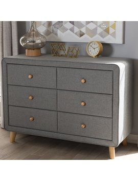 Wholesale Interiors Tito 6 Drawer Double Dresser & Reviews by Wholesale Interiors