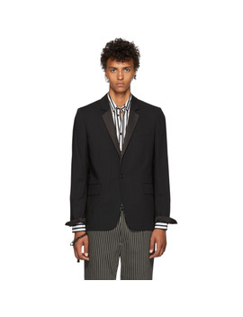Black Wool Blazer by Ann Demeulemeester