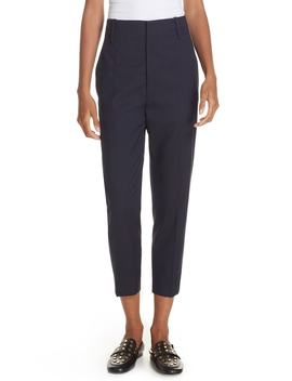 Isabel Marant Étoile Noah Tapered Wool Crop Pants by Isabel Marant Etoile
