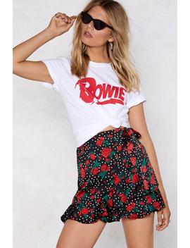Rose With Me Wrap Skirt by Nasty Gal