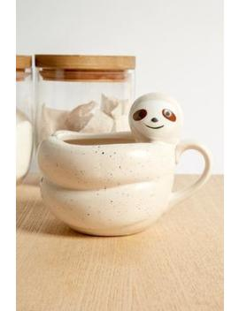 Sloth Hug Mug by Urban Outfitters