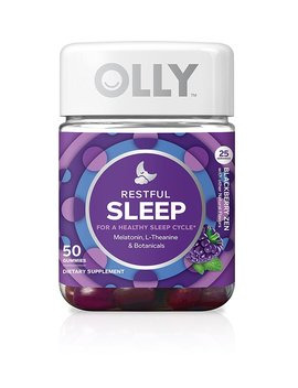 Olly Restful Sleep Blackberry Zen   50 Count By Olly by Amazon