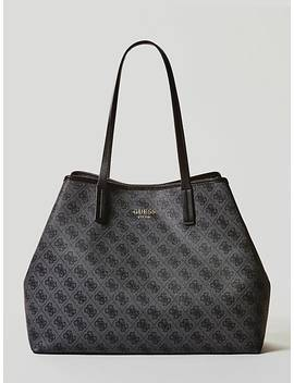 Vikky Large Shopper Logo by Guess