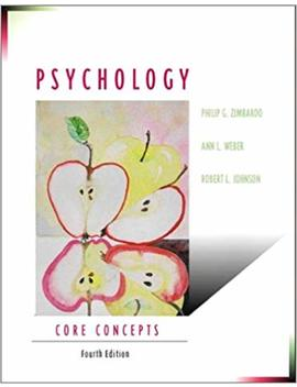 Psychology: Core Concepts (4th Edition) by Amazon