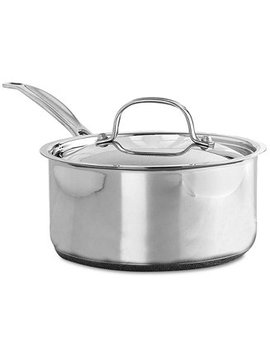 Chef's Classic Stainless Steel 2 Qt. Covered Saucepan by Cuisinart