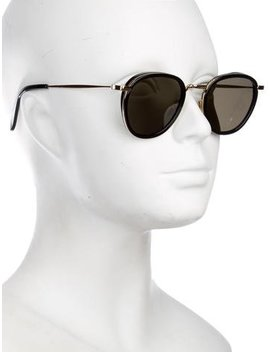 Céline Tinted Round Sunglasses by Céline