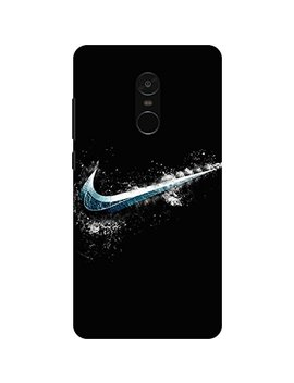 Patterncreations Nike Logo Pattern Printed Designer Slim Light Weight Back Cover For Mi Redmi Note 4 by Pattern Creations