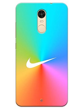 My Phone Mate Nike Colorful Designer Printed Hard Matte Mobile Case Back Cover For Xiaomi Redmi Note 4 by My Phone Mate