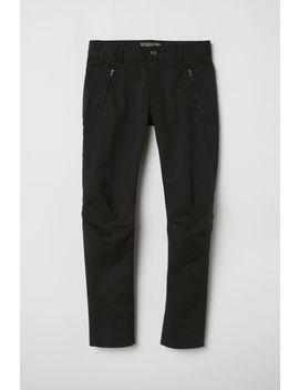 Twill Pants Shaped Leg by H&M