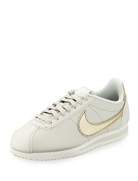Women's Classic Cortez Premium Sneakers by Nike