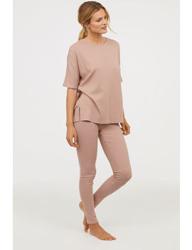 Gerippte Loungeleggings by H&M