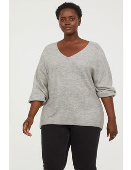H&M+ V Neck Sweater by H&M