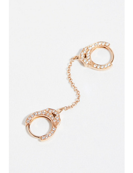 Diamond Handcuff Single Earring by Free People