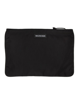 Pochette Noire Explorer by Balenciaga