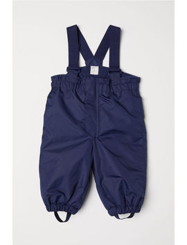 Snow Pants With Suspenders by H&M