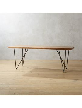 "Dylan 36""X80"" Dining Table 2 by Crate&Barrel"