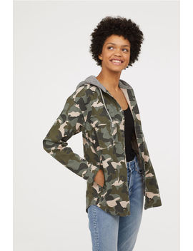 Hooded Shirt Jacket by H&M