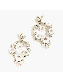 Floral Clip On Earrings by J.Crew