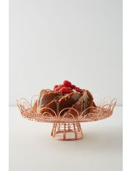 Gardenia Cake Stand by Anthropologie