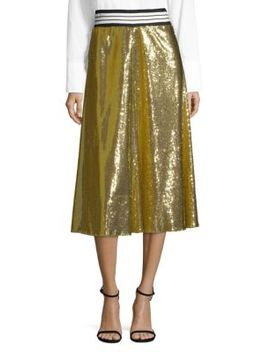 sequin-skirt by robert-rodriguez