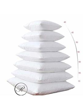 """40cm X 40cm Cushion Pad Pillow Insert Inner, Hypoallergenic Polyester Cushions By Rohi (Set Of 4 