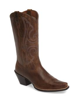 Round Up D Toe Western Boot by Ariat