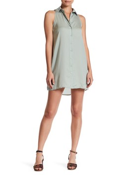 Sleeveless Button Dress by Wild Honey