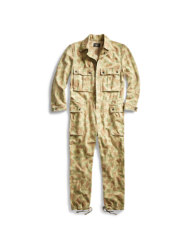 Camo Herringbone Coverall by Ralph Lauren