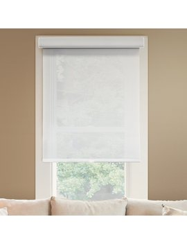 """Chicology Deluxe Free Stop Cordless Roller Shades No Tug Privacy Window Blind, 41"""" W X 72"""" H, Magnolia (Light Filtering) by Chicology"""