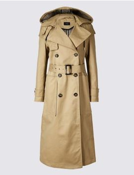 Trench Coat With Stormwear™ by Tracked Express Delivery: