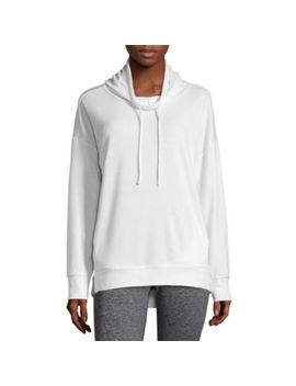 Xersion Long Sleeve Knit Hoodie by Xersion