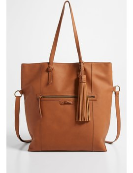 Large Tassel Tote by Maurices