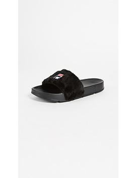 X Fila Sherpa Pool Slides by Baja East