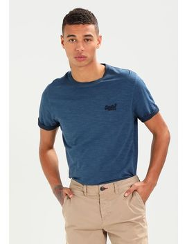 Label Low Roller   Basic T Shirt by Superdry