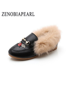 Winter Fashion Child Girls Snow Boots Shoes Warm Plush Soft Bottom Baby Girls Boots Leather Winter Snow Boot For Baby Eur 21 36 by Zenobiapearl