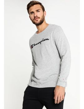 Crewneck    Long Sleeved Top by Champion