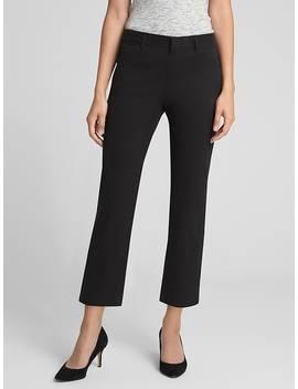 Curvy Slim City Crop Pants by Gap