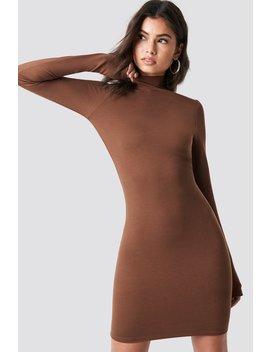 High Neck Bodycon Dress by Na Kd