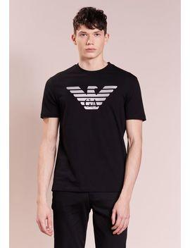 Logo   T Shirt Con Stampa by Emporio Armani
